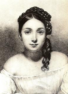Juliette Drouet 1806_1883  comédienne la maitresse de Victor Hugo