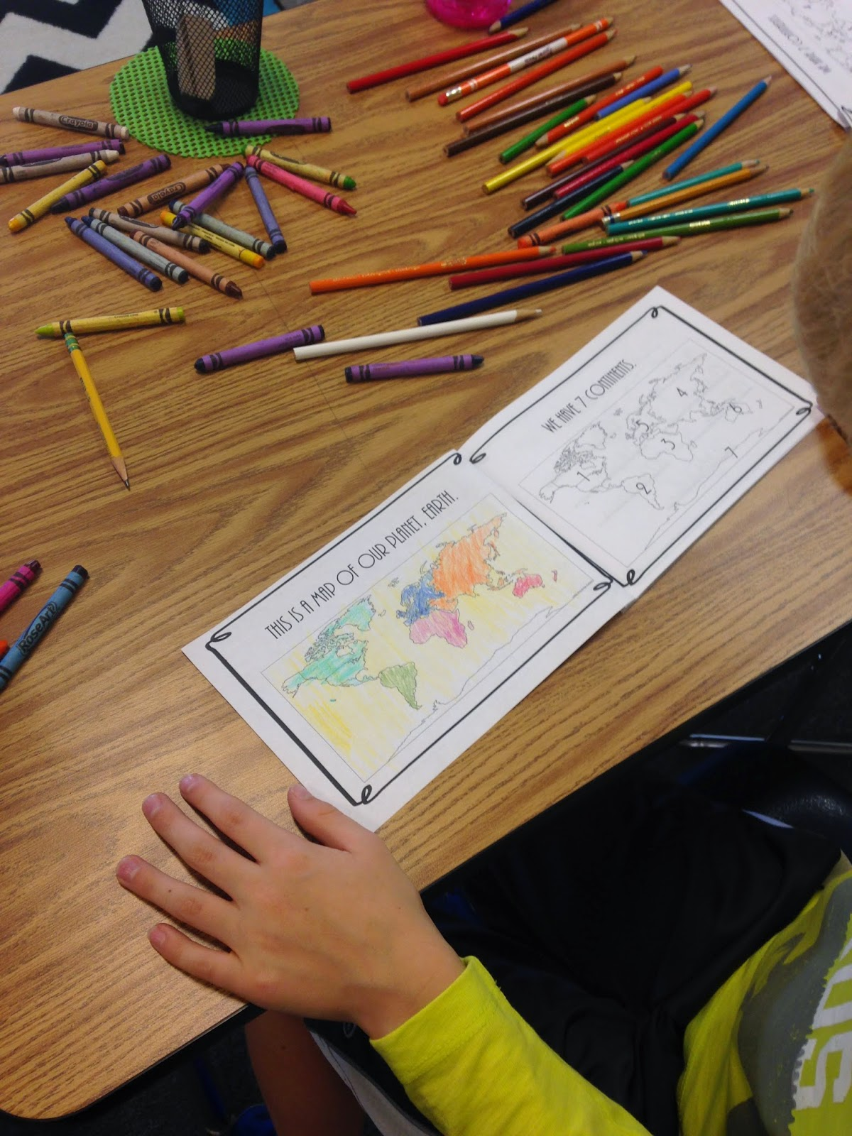 In 5th Grade With Teacher Julia Teaching About The 7 Continents 5 Oceans And Globe Features