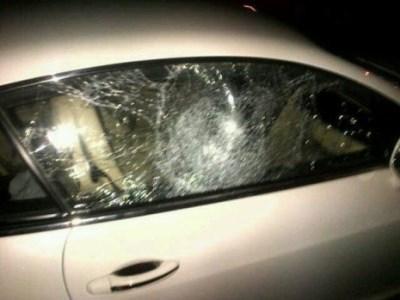 Dino Melaye car attacked