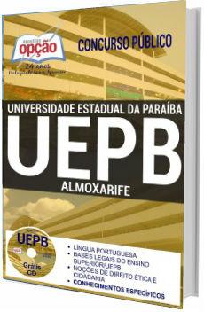 Apostila UEPB 2017 Almoxarife