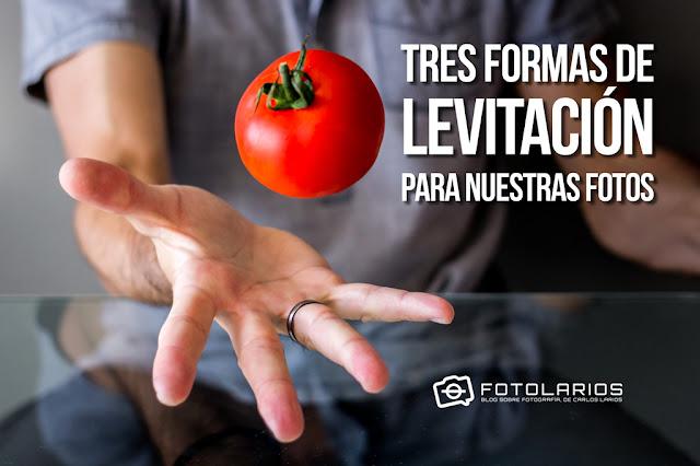 Tres formas de levitación para nuestras fotos