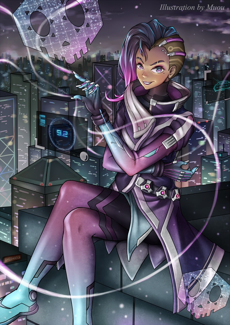 pictures of sombra from overwatch