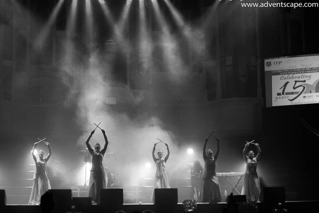 Avellana, Dandiya Dancers, dance, IIBIT, Anniversary, Town Hall, Sydney, Australia, Corporate