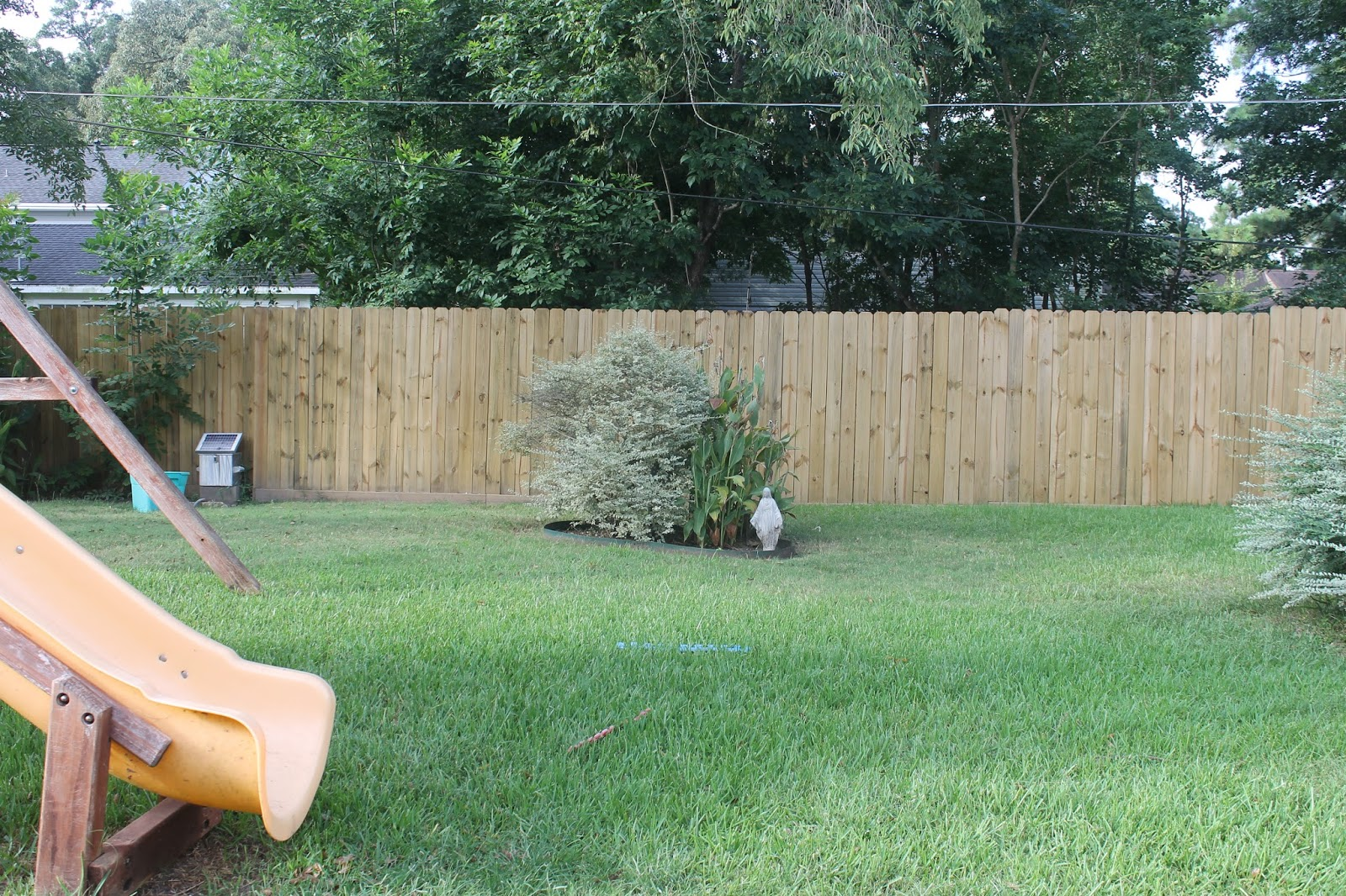 Blair S Blessings Before And After Backyard Fence