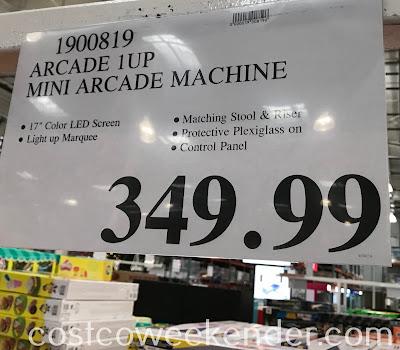 Deal for an Arcade1Up Mini Arcade Machine at Costco
