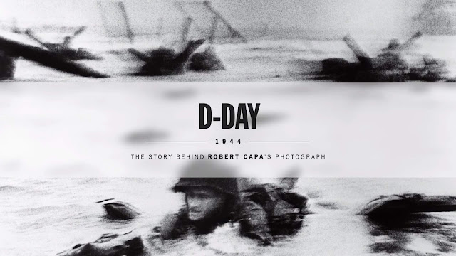 D-Day: Behind Robert Capa's Photo Of Normandy Beach