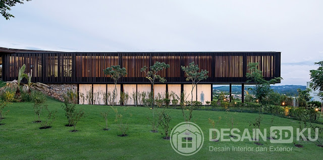 Rumah Minimalis Terkini Dengan Landscape Yang Mewah