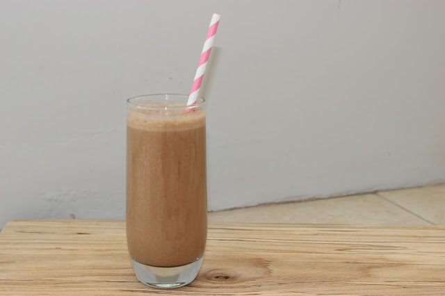 healthy nutella shake