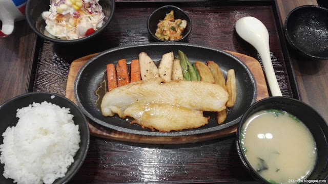 タイやよい軒の定食 Thai-yayoiken-teishoku2