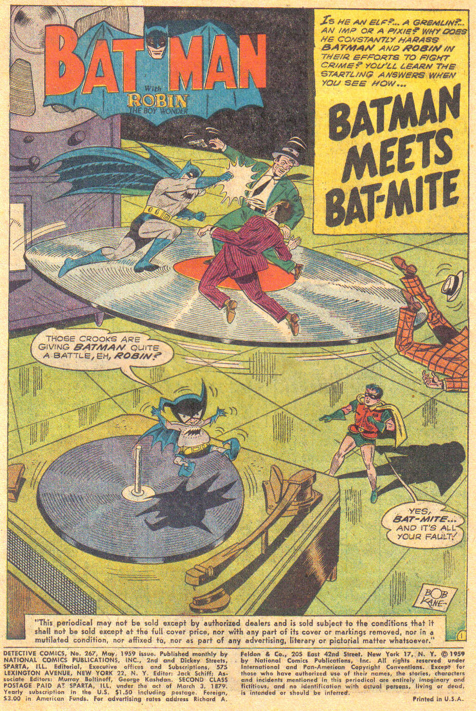 Read online Detective Comics (1937) comic -  Issue #267 - 3