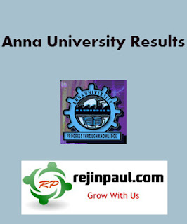 Anna University Old Semester Results link Collections - Check UG PG Old Results Anna University
