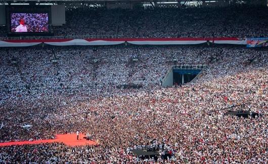 Jokowi Ajak Rakyat Optimis: Negara Tidak Akan Bubar, Kita di Jalan yang Benar