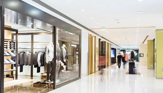 Trung tâm thương mại mua sắm sang trọng