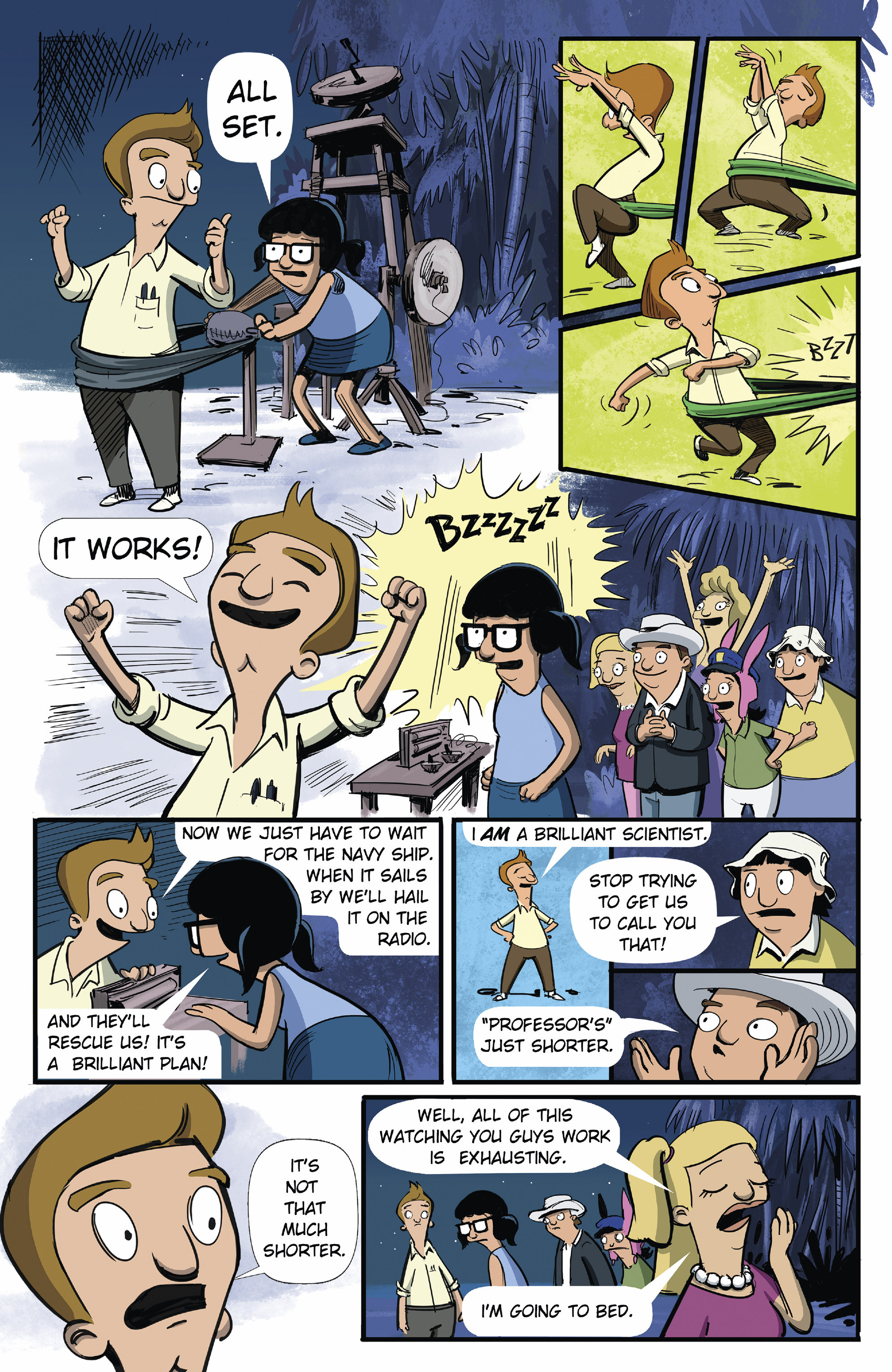 Bob's Burgers (2015) Issue #9 #9 - English 5