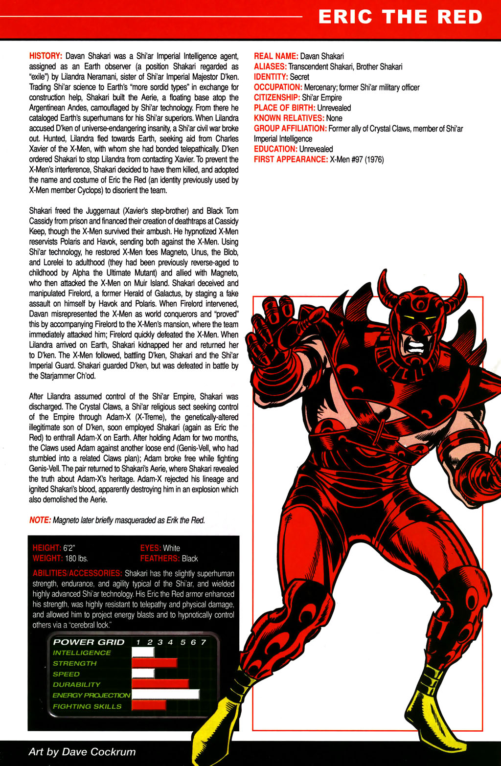 Read online All-New Official Handbook of the Marvel Universe A to Z comic -  Issue #4 - 15