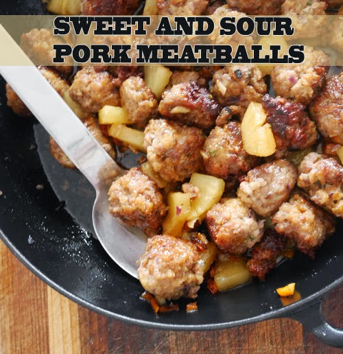 Sunday, April 26 RECIPE: Easy sweet and sour pork meatballs Author ...
