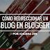 Cómo redireccionar un blog en Blogger