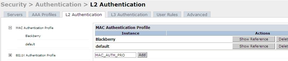 Aruba Controller Authentication Part 1 MAC-Auth - Network Couple