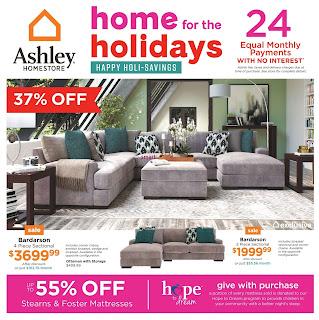 Ashley HomeStore Weekly Flyer December 13 - 19, 2018