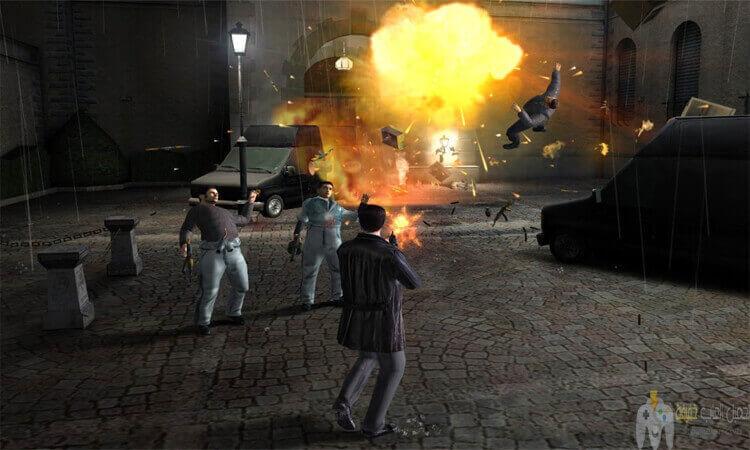 تحميل لعبة ماكس بين 1 Max Payne من ميديا فاير