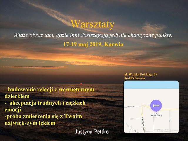 Warsztaty 17-19 maj 2019