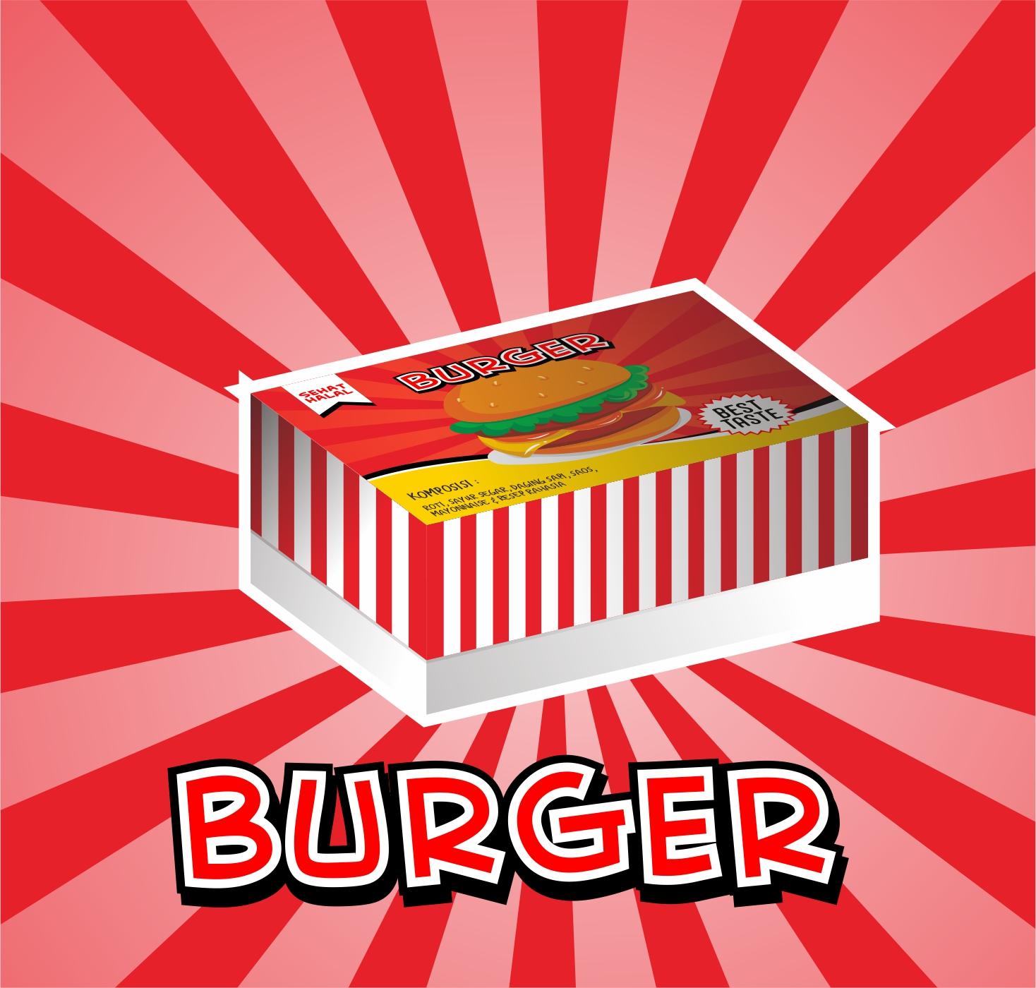 Desain Kemasancoreldraw: Download Contoh Packaging Burger/ Roti Dengan CorelDraw