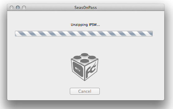 Jailbreak Apple TV 2nd Generation Seas0nPass Firmware Update
