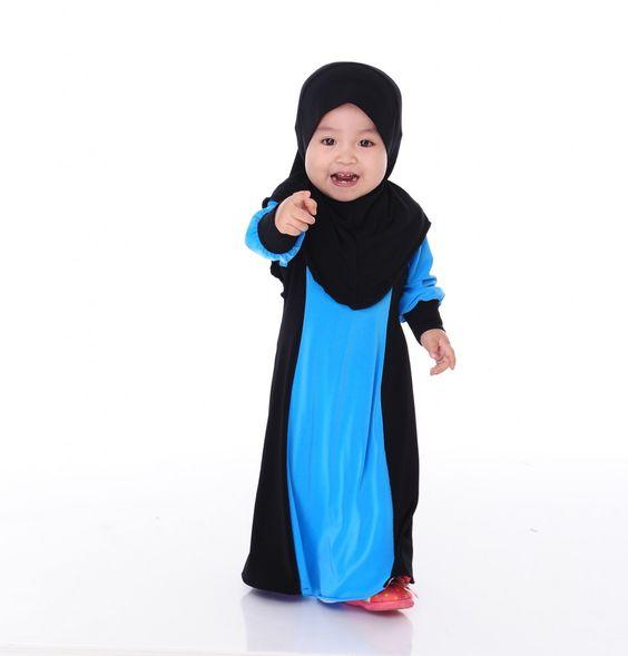 Model Baju Busana Muslim Anak Terbaru 2018