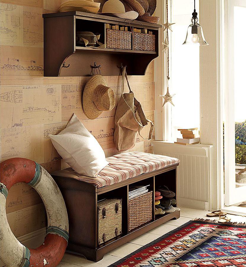 Hall de entrada no melhor do estilo r stico decora o e ideias - Fotos de recibidores de casas ...