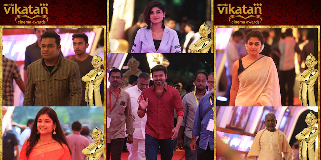 Tamil Cinema Awards 2017-Ananda Vikatan