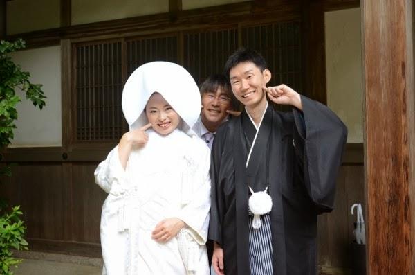 石上神宮での結婚式