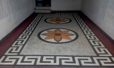 Lantai Carport Dengan Batu Alam