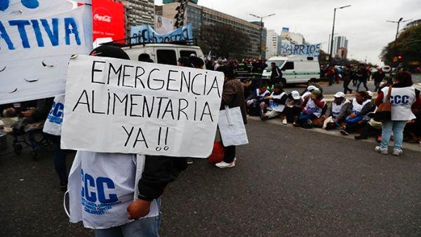 Afirman que 13,5 millones de argentinos son pobres