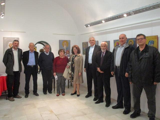 Εγκαίνια της Έκθεσης Αγιογραφίας - Ψηφιδωτού στο Ναύπλιο
