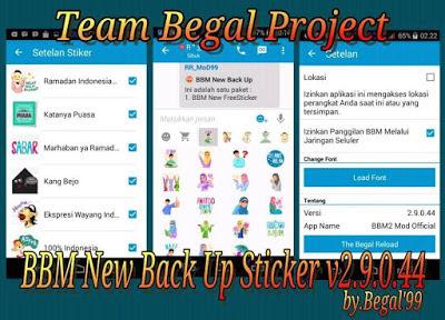 BBM Clone Free Sticker Apk v2.9.0.44