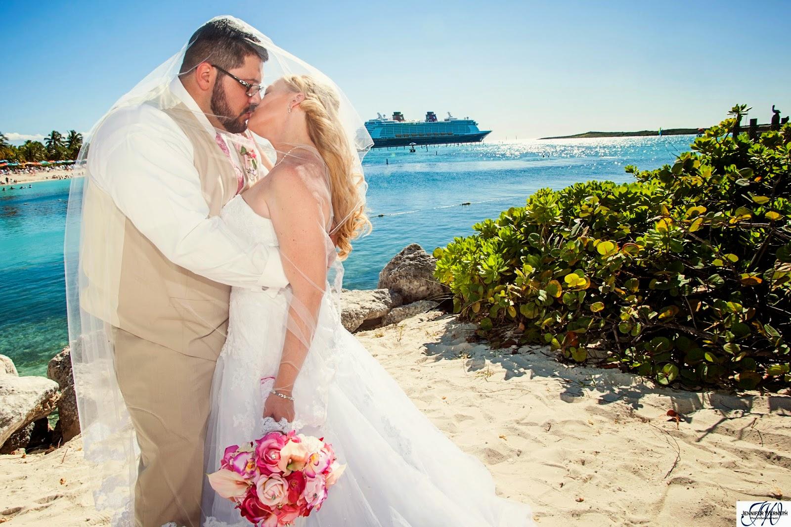 Matthew And Laura Disney Dream Cruise Wedding Photography Castaway Cay Bahamas Nau