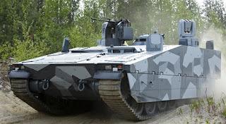 Combat Vehicle CV90 - Kendaraan Tempur Lapis Baja