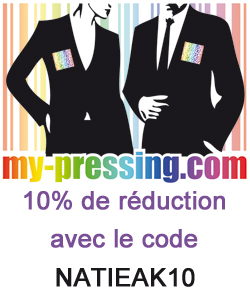 pressing en ligne: réduction de 10%