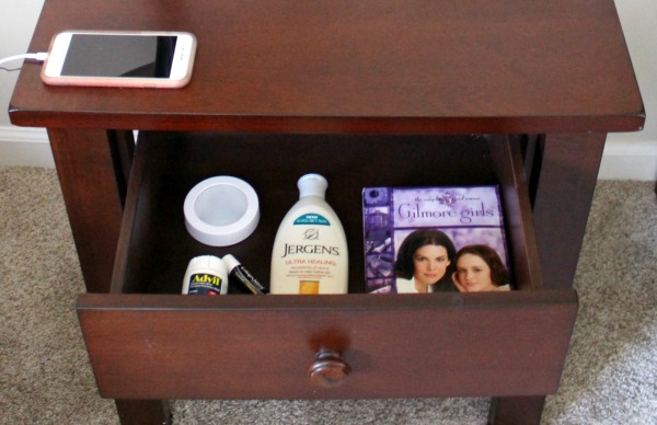 All the breastfeeding supplies that are essential for organizing a convenient nighttime nursing station