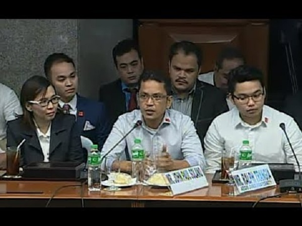 Sen. POE : HALATANG may TINAGO, Ralph Trangia Parents invoke right against self-incrimination!