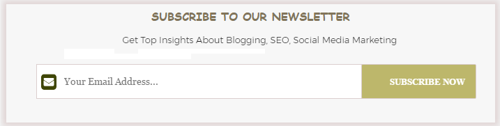 below every post email subscribe widget for blogger blogspot