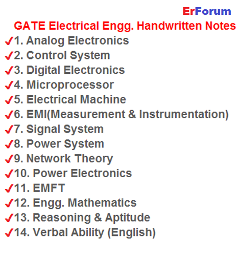 gate-electrical-notes-download