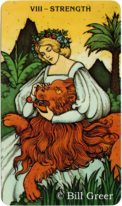 Morgan Greer Tarot, Strength