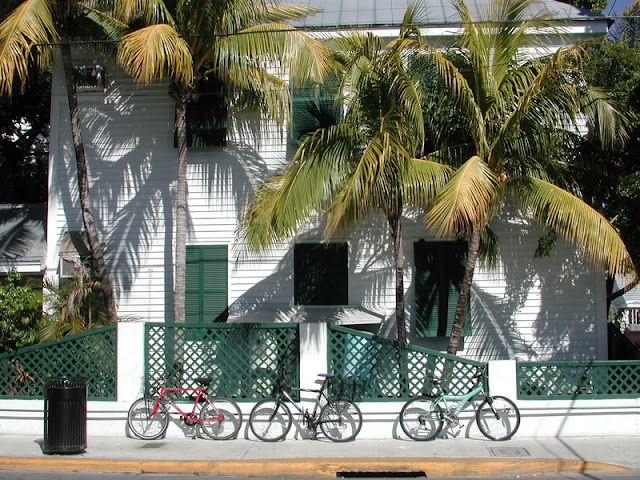 Cycling at Oldtown at Key West
