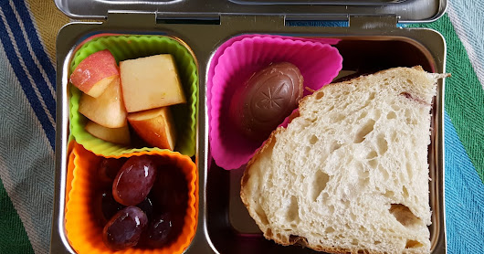 Henry's Lunchbox - Easter Treats and Peanut Butter