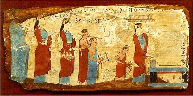 vintage Ρωμαϊκή όργιο