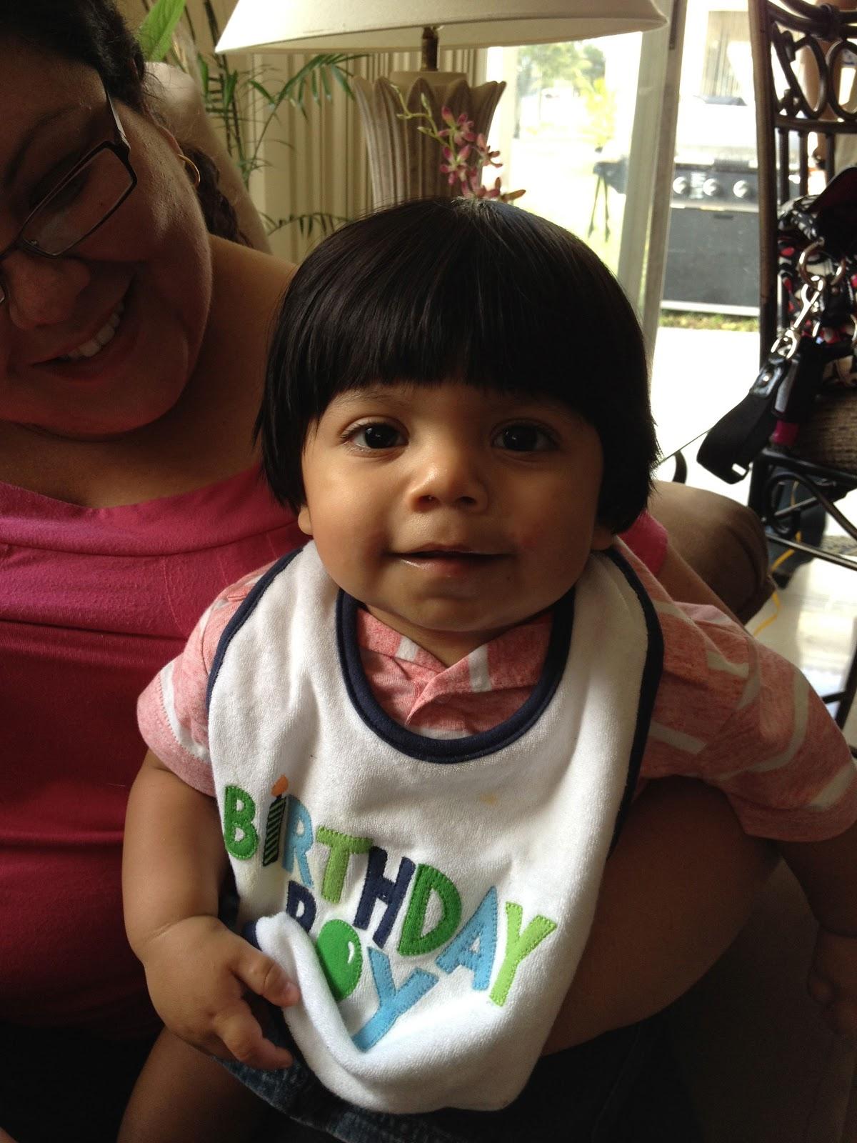 Stories Of A Happy Mom: Baby Gabriel's 1st birthday