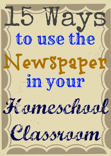 newspaper to teach current events