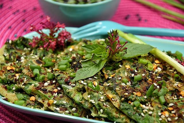 crepes kale basilic thai
