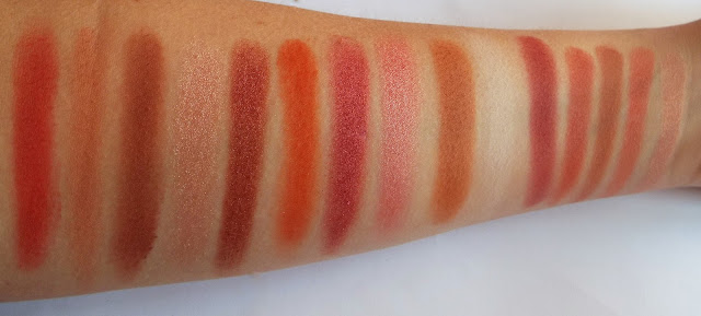 Makeup Revolution  Reloaded Newtrals 2 swatches